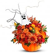 Flower Bouquets: Spooky Halloween Surprise