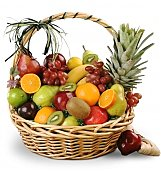 Fruit Gift Baskets: For a Special Couple Fruit Basket