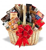 Wine & Gourmet: A Beautiful Union Wine & Gourmet Basket